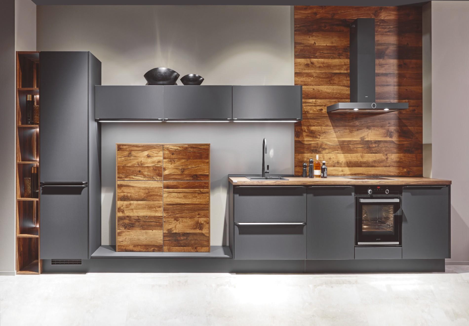 Moderne keuken grijs