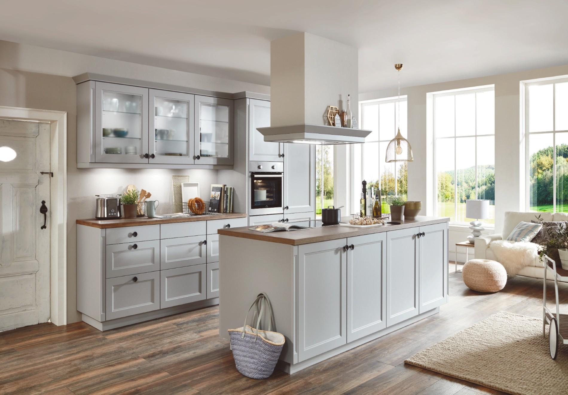 karakteristieke keuken wit