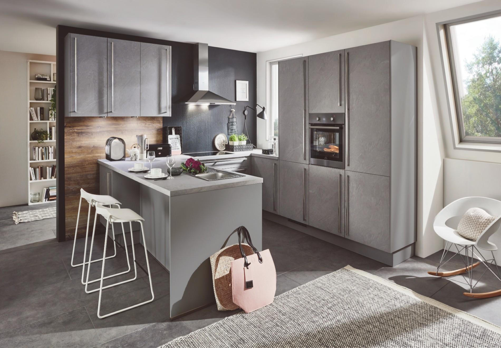 moderne keuken betonlook