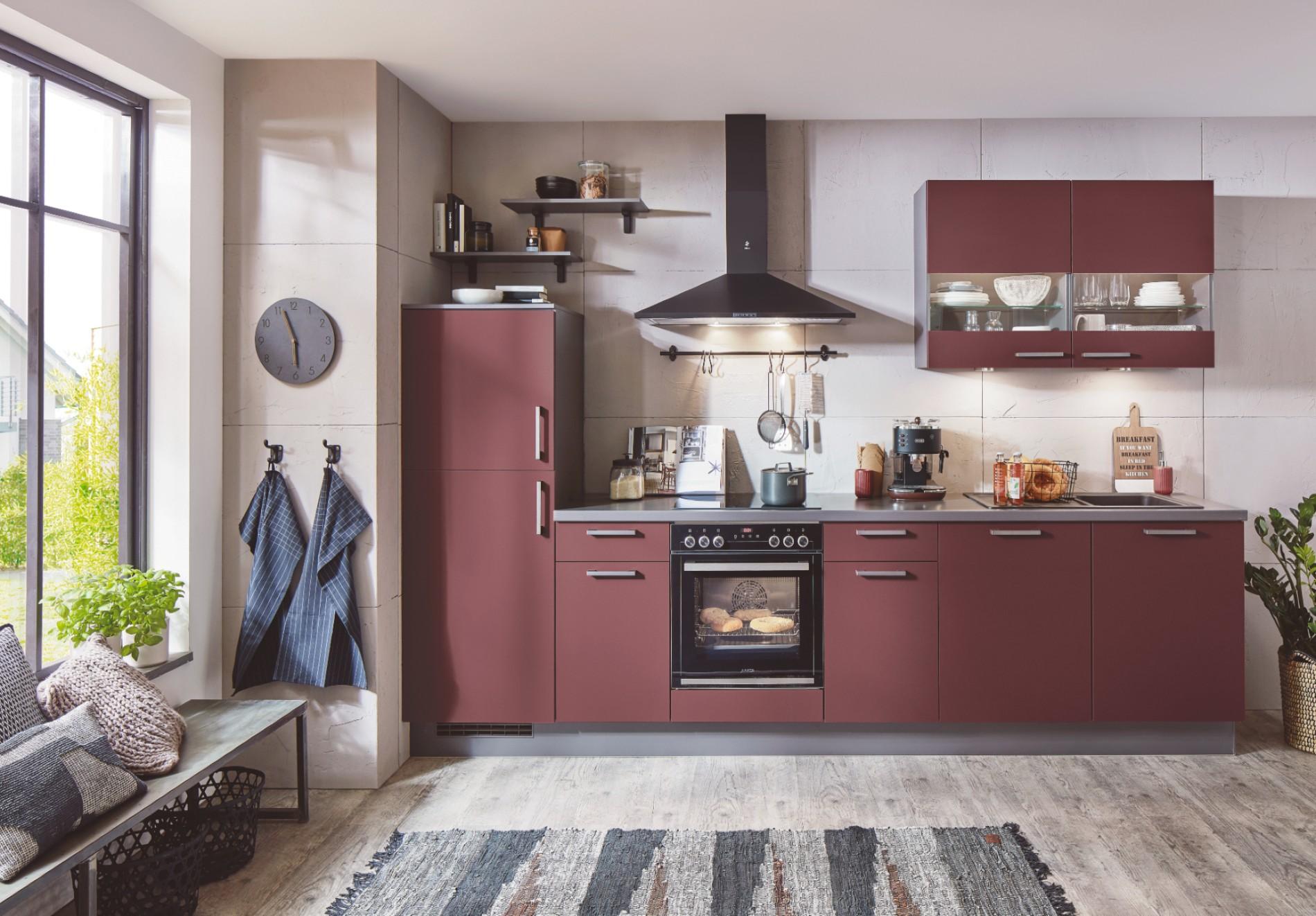 Moderne keuken rood